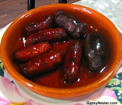 Blood Sausage in Spain