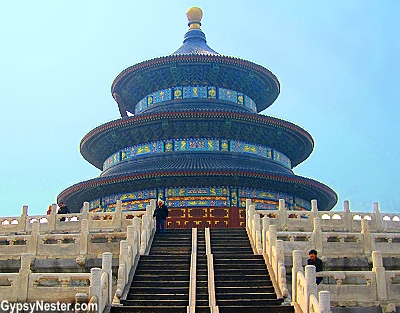 The Hall of Prayer for Good Harvests at The Temple of Heaven in Beijing, China