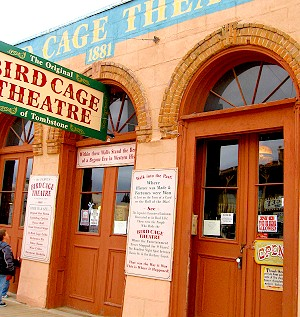 The Birdcage Theater in Tombstone