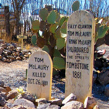Boothill Cemetery Tombstone Arizone