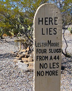 Lester Moore No More No Less
