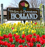 It's Tulip Time in Holland Michigan!