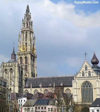 The Church of Our Lady in Antwerp, Belgium