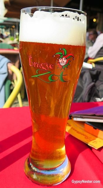 Zot beer in Belgium