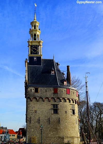 The tower of Hoorn, Holland, The Netherlands