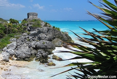 Tulum overlooking the ocean