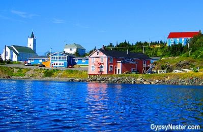 The Anchor Inn in Twillingate, Newfoundland, Canada