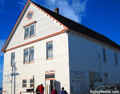 The Orange Lodge in Twillingate, Newfoundland
