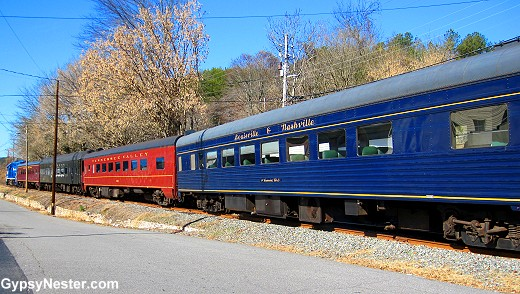 The Blue Ridge Scenic Railway