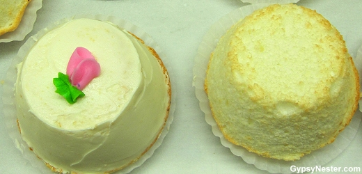 Underbrink's Bakery's famous angel food cupcakes