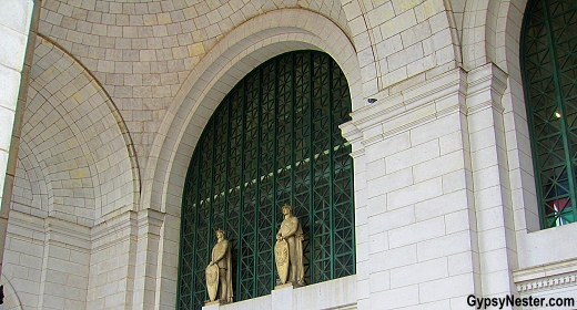 Exterior of Union Station, Washington, DC