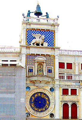 Torre dell'Orologio or St. Mark's Clock