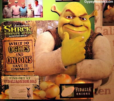 Shrek loves Vidalia Onions!