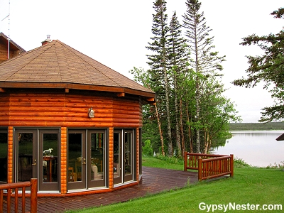 Tuckamore Lodge in the tiny town of Main Brook, Newfoundland