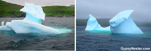 Icebergs in St. Anthony Newfoundland