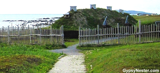 The L'Anse aux Meadows National Historic Site, Newfoundland
