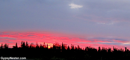 Spectacular Newfoundland Sunset