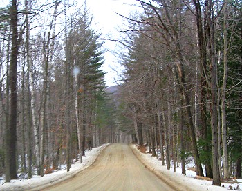 Vermont State Route 121 turns dirt!