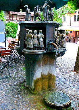 The Donkey Fountain
