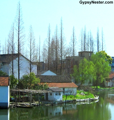 On the way to Zhujiajiao, China
