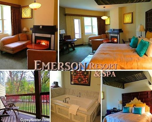 All for ME? My fabulous room at Emerson Spa & Resort