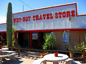 The Why Not Travel Store, Why Arizona