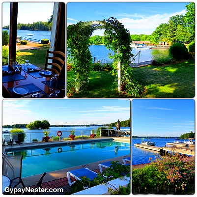 The Glen House Resort in the 1000 Islands of Ontario, Canada