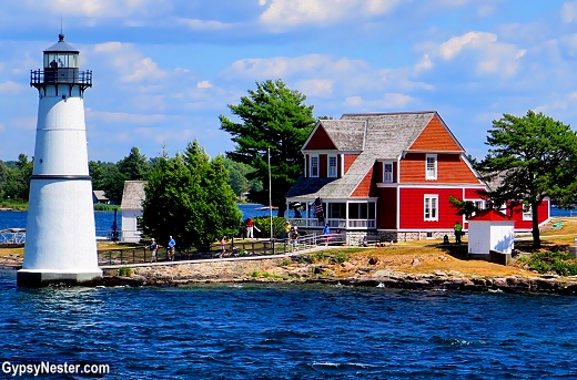 This home in the 1000 Islands was an important stop on the Underground Railroad, once past here fleeing slaves crossed into Canada.