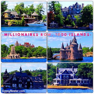Millionaire's Row in the 1000 Islands
