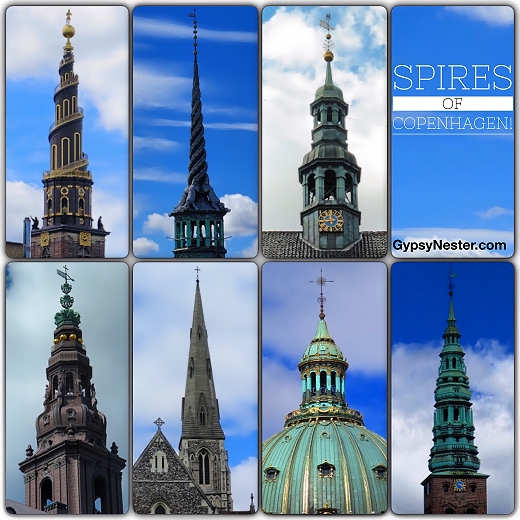 The Spires of Copenhagen, Denmark