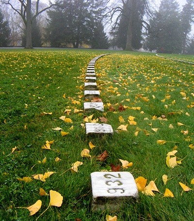 Graves at Gettysburg
