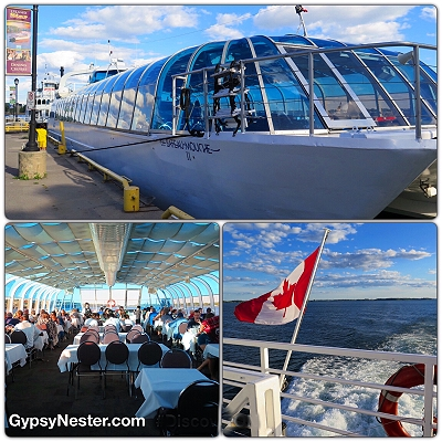 The Island Star Dinner Cruise of the 1000 Islands in Kingston, Ontario, Canada