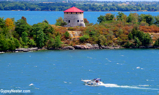 Fortification tours dot the islands surrounding Kingston, Ontario, Canada