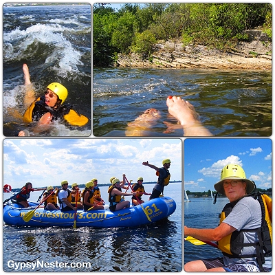 Whitewater rafting through Ottawa, Ontario, Canada!