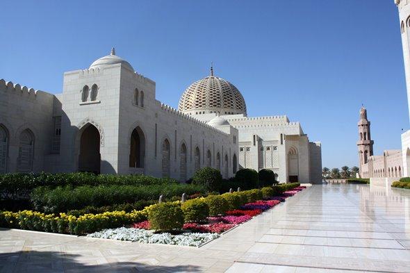 A popular tourist destination in Oman